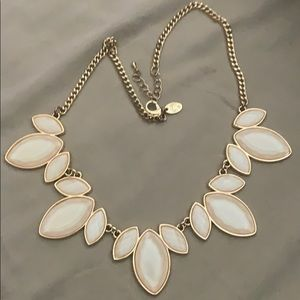 Charming Charlie blush pink necklace